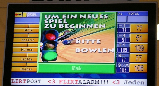 Sommerbowling 2014